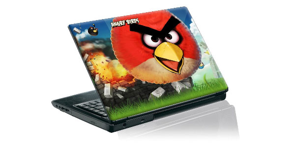 Angry Birds Laptop and Phone Skins