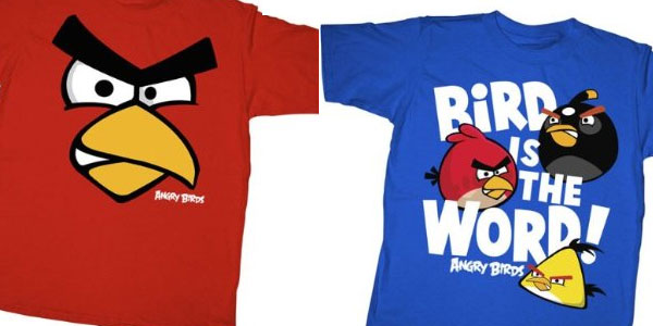 Angry Bird T-shirts