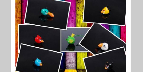 Angry Birds Cell Phone Charm