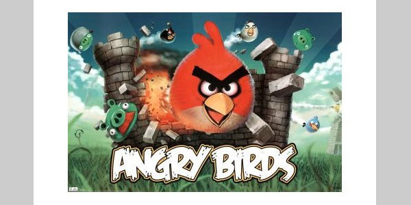 Angry Bird Game Posters