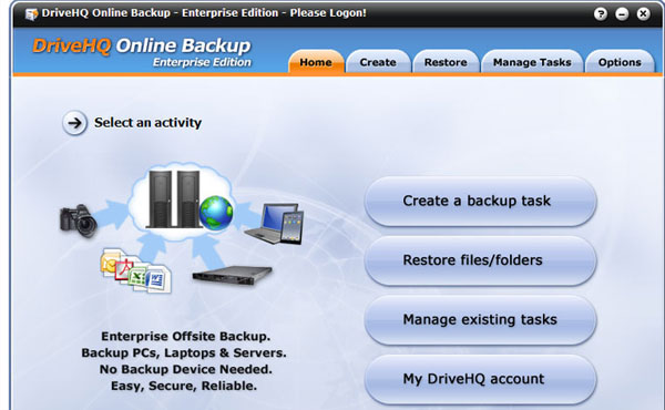 drivehq 15 Useful Free Services To Backup Your Data Online