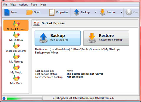 fbackup 15 Useful Free Services To Backup Your Data Online