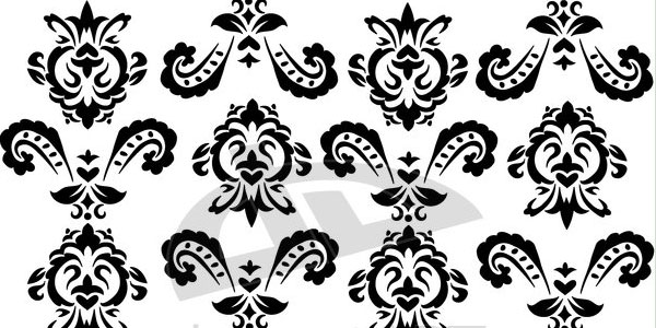 baroque in black 11 Useful Baroque Patterns