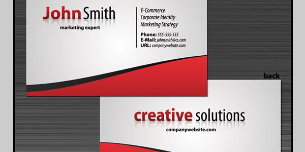 25 lovely business card design tutorials