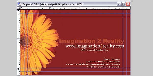 Design Business Cards in Adobe Photoshop