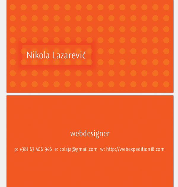 Design Slick Print Ready Business Card Using Photoshop