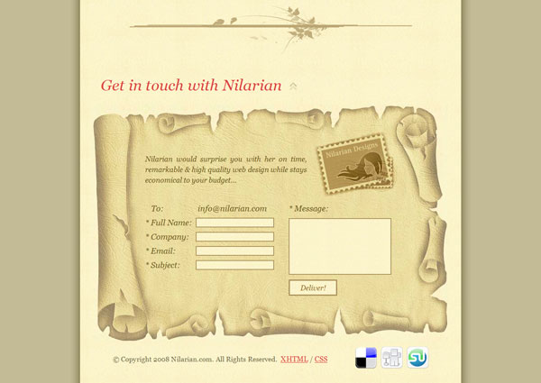 keeptouch 25 Creative Contact Form Designs