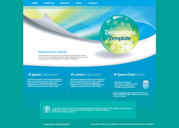 website templates 20 Beautiful Free CSS Web Templates
