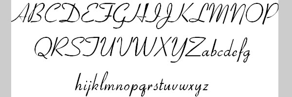 20 Awesome Fonts For Cursive Letters
