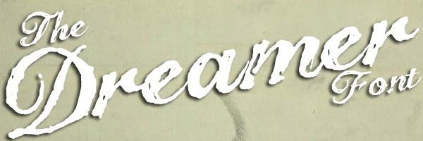 the dreamer 20 Cool Fonts For Cursive Letters