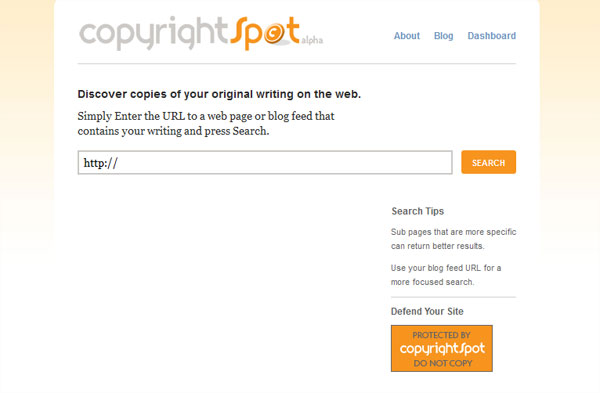 copyrightspot 10 Top Tools For Checking Duplicate Content