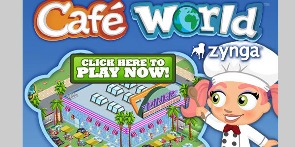cafeworld 25 Best Facebook Games