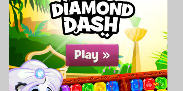 diamonddashgame 25 Best Facebook Games