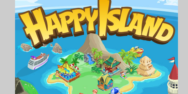 happyislandgame 25 Best Facebook Games