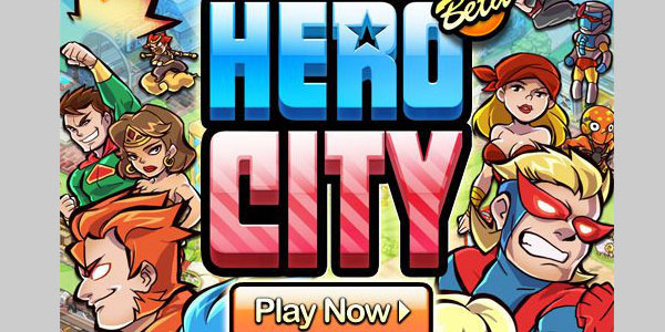 hero city 25 Best Facebook Games