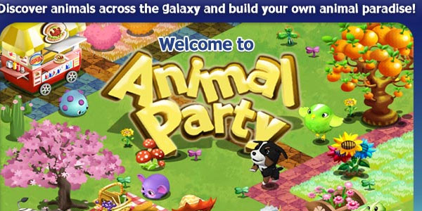 party animal 25 Best Facebook Games