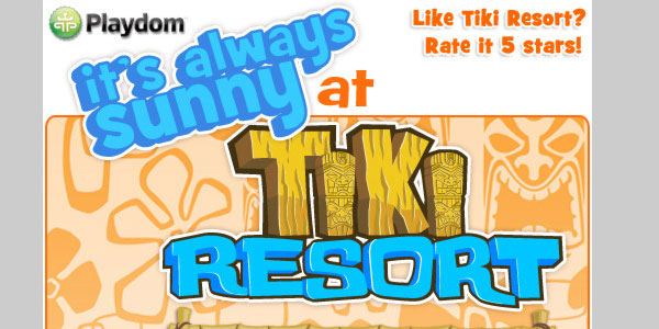 tikiresort 25 Best Facebook Games