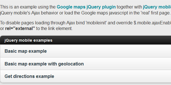 jquery mobile 15 jQuery Google Map Plugins