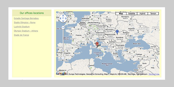 poi map using jquery google maps 15 jQuery Google Map Plugins