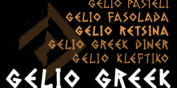 gelio 25 Greek Alphabet Fonts