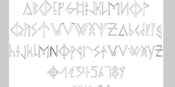 odins spear 25 Greek Alphabet Fonts