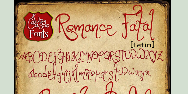 romance 25 Greek Alphabet Fonts