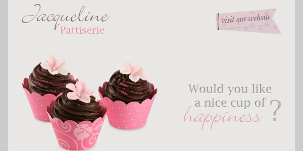 Patisserie Newsletter PSD