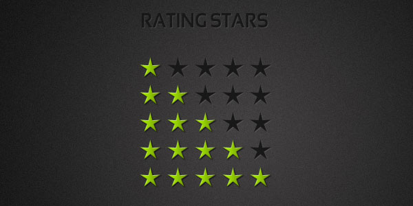 rating stars psd 25 High Quality Free PSD Files