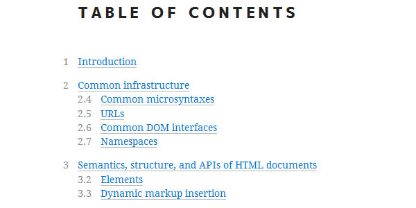 HTML5 - A technical specification for Web developers