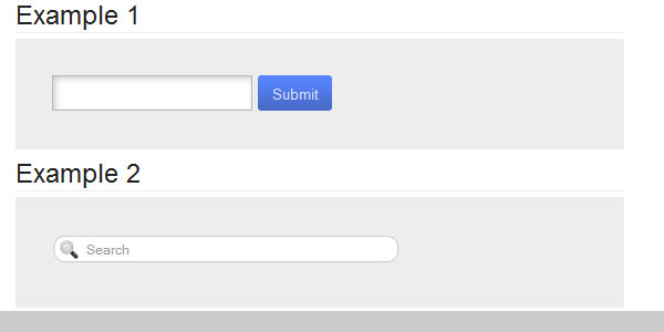 Designing Search Boxes with HTML5 and CSS3