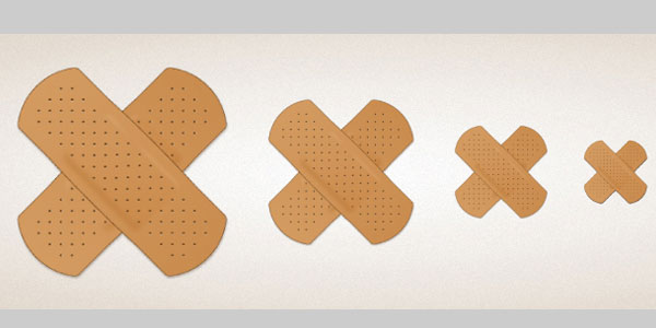 Create a Band-aid Icon