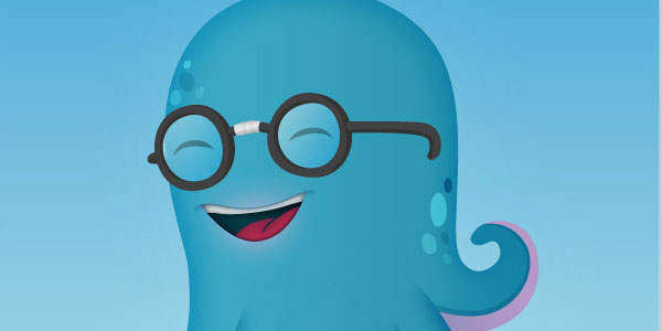 How to Illustrate a Cute little Octopus Mascot