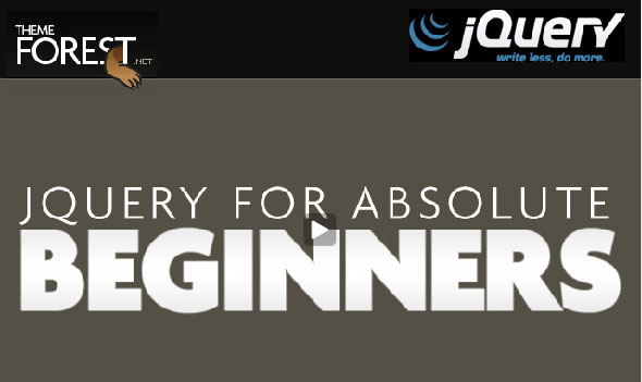 jquery for beginners 25 Handy jQuery Tutorials