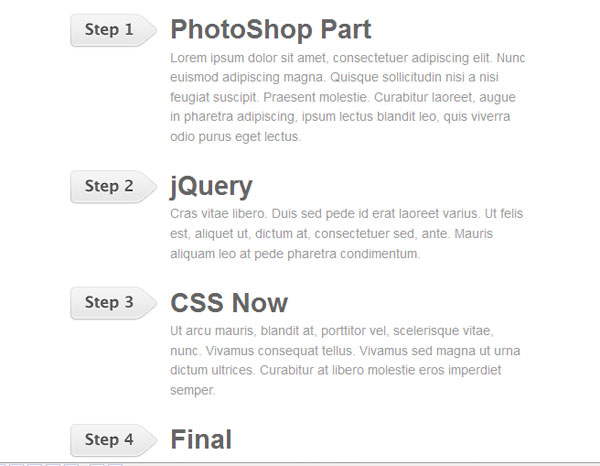 jquery sequential list 25 Handy jQuery Tutorials