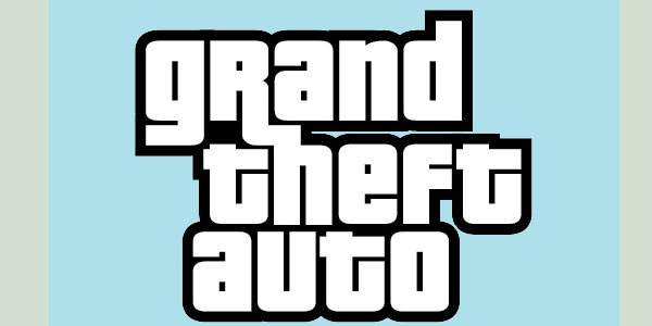 Grand Theft Auto Logo Tut.