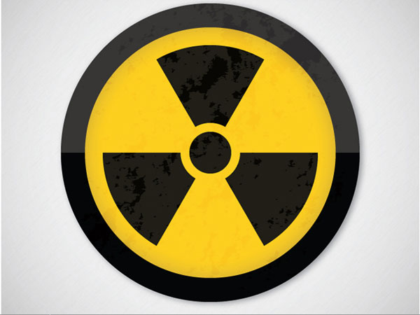 Create a Grungy Nuclear Warning Symbol