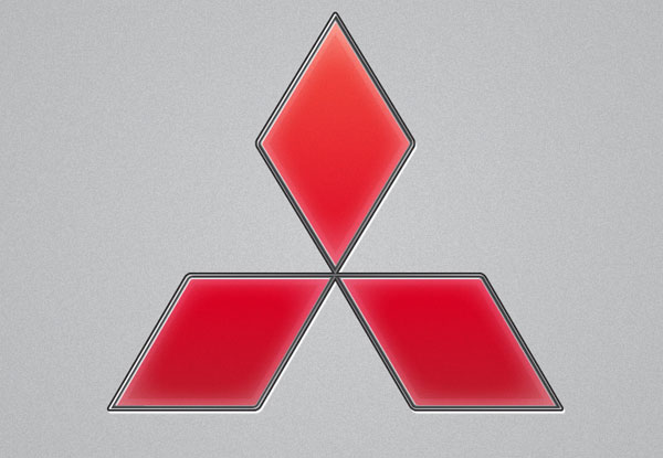 Create the Mitsubishi Logo