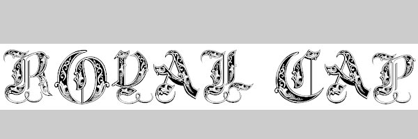 royal 20 Old English Letters Fonts