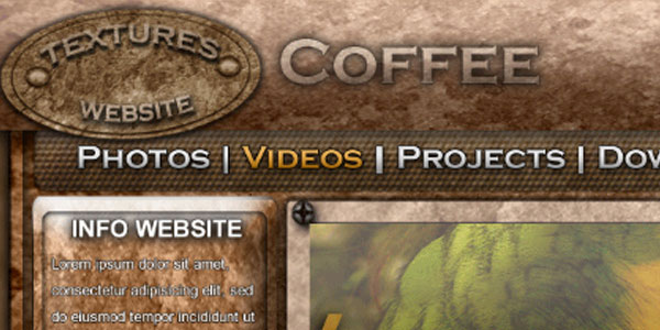 Coffee website - Pawluk
