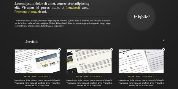 free psd template 25 Free PSD Website Templates