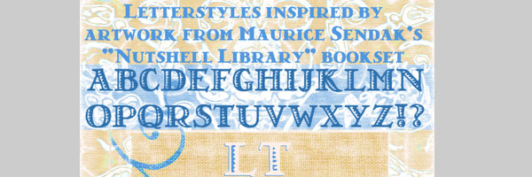 nutshell library 25 Cool Retro Fonts For Designers