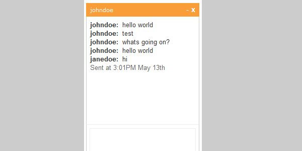 jquery chat 20 Nice jQuery Social Media Plugins