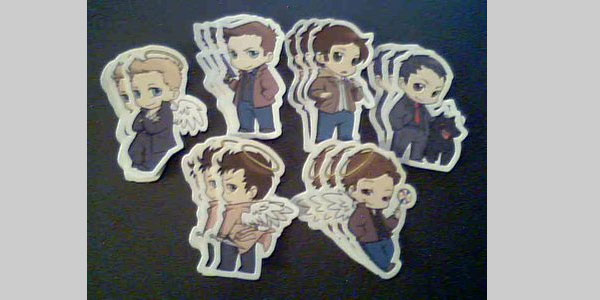 Supernatural stickers