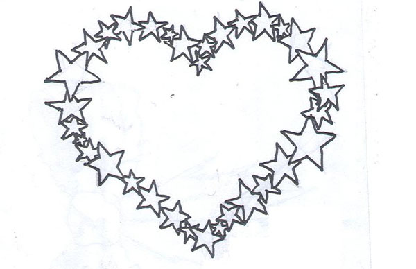 Star Heart Tattoo
