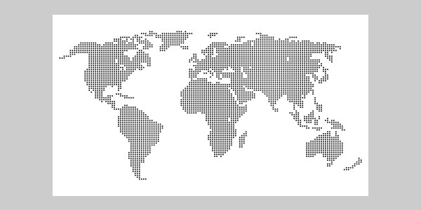 World map outline vector dotted images free download world map outline vector dotted gumiabroncs Image collections