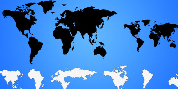 vector world map 20 Free Files Of Vector Maps