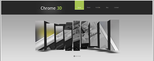 chrome 20 Professional Website Templates