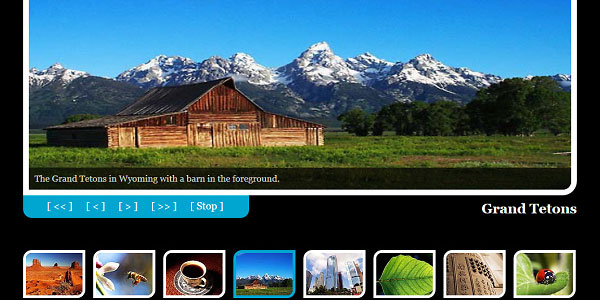 photo gallery template 25 Free Web Design Templates