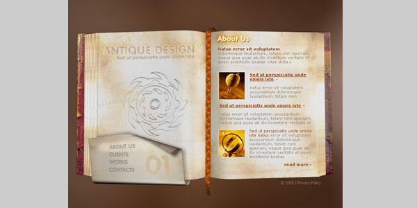 Art Photography Template