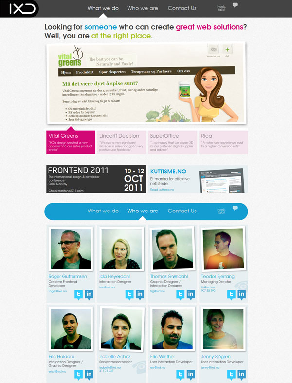 1xd 25 Awesome Website Layouts